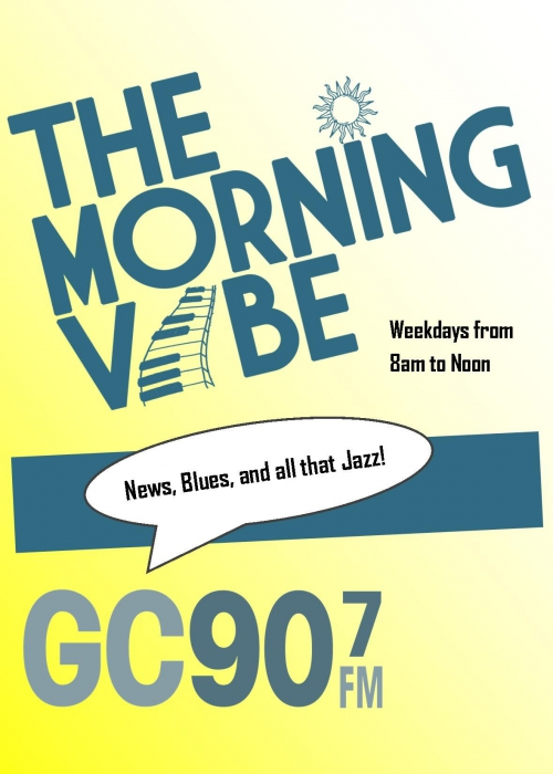 morning vibe updated logo poster
